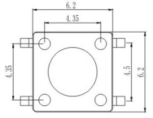 带防静电脚RTS(M)(A)(T)(G)-6结构图