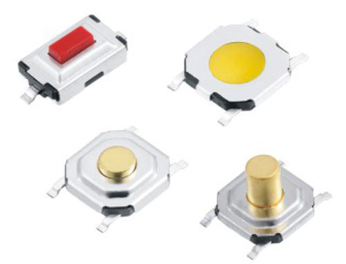 Thinne Type Tactile Switches RZTM Figure