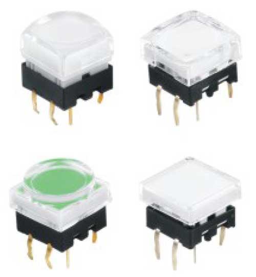 Illuminated Tactile Switches R2901 Figure