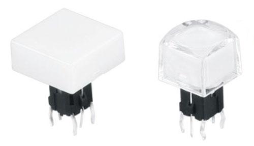 Illuminated Tactile Switches R2590/91 Figure