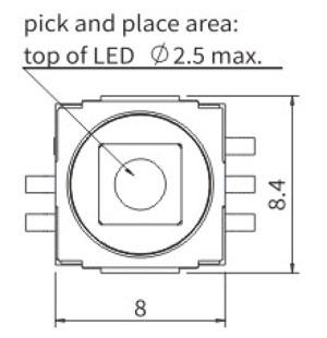 带灯轻触开关R2990L结构图