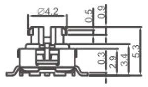 防水开关R2998L结构图