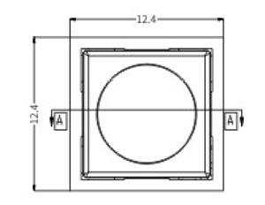 密封型R2996开关结构图