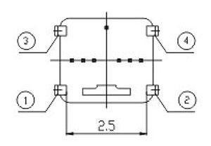 超薄膜轻触开关R11