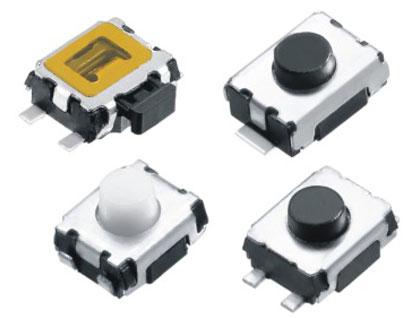 Horizontal Push Tactile Switches Figure RTP/RPTM