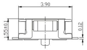 Tactile Switches RTP/RPTM Structure Diagram