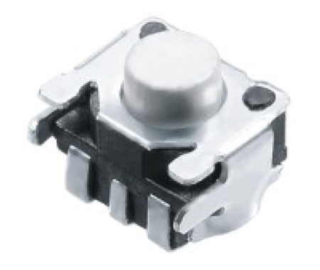 Horizontal Push Tactile Switches R1023A Figure