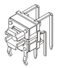 Illuminated Tactile Switches R591 Structure Diagram