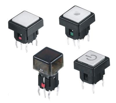 Illuminated Tactile Switches R596B Figure