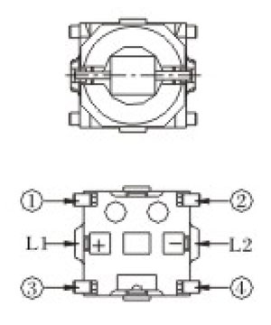Switch R596B Structure Diagram
