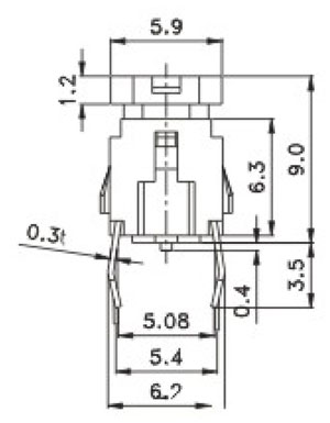 R596B Structure Diagram