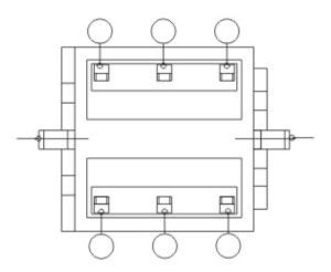 Illuminated Push Button Switches R2909 Structure Diagram
