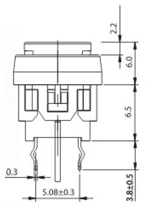 Switch R2909 Structure Diagram