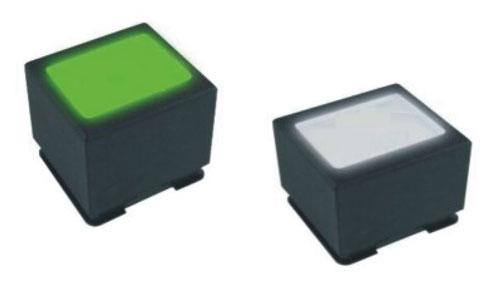 带OLED显示按钮开关RS998实拍图