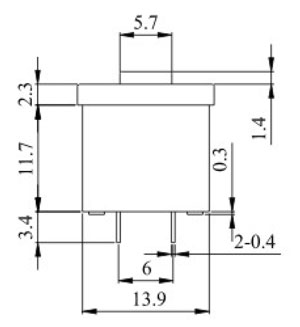Illuminated Push Button Switches R0193 Structure Diagram