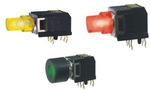Ultra Low Profile Tactile Switches R2995A Figure