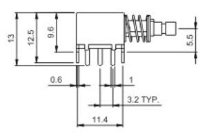 开关R0198结构图