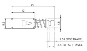 Push_Button Switches R0198A Structure Diagram