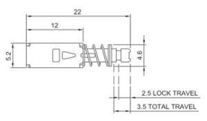 按钮开关R0198A结构图