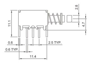 Switch R0198A Structure Diagram