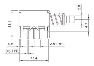 开关R0198A结构图