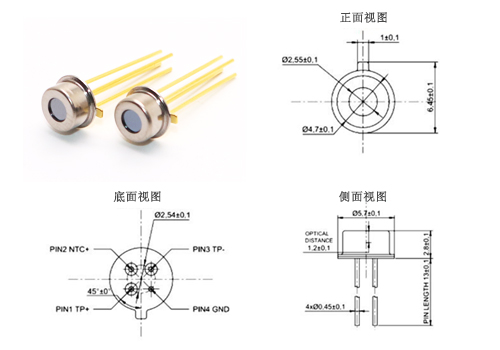 TP3143 红外热电堆传感器