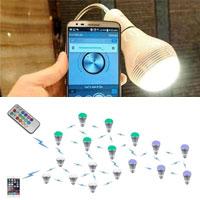 上海巨微蓝牙芯片蓝牙智能照明解决方案